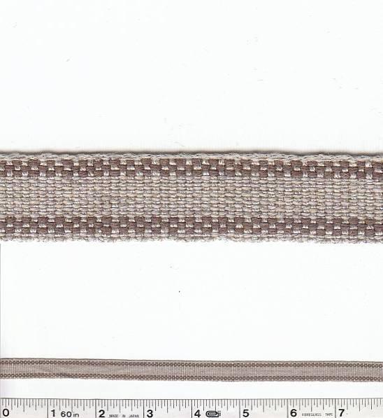 Border Stripe Trim - Brown