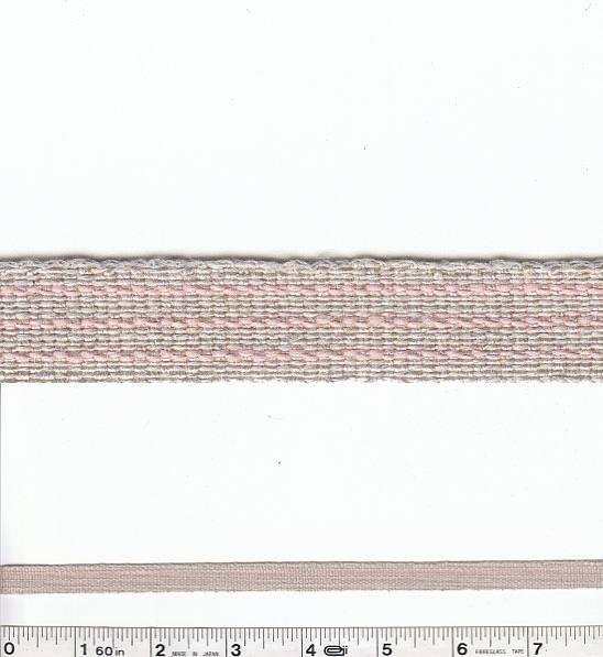 Pinstripe Trim - Pale Pink