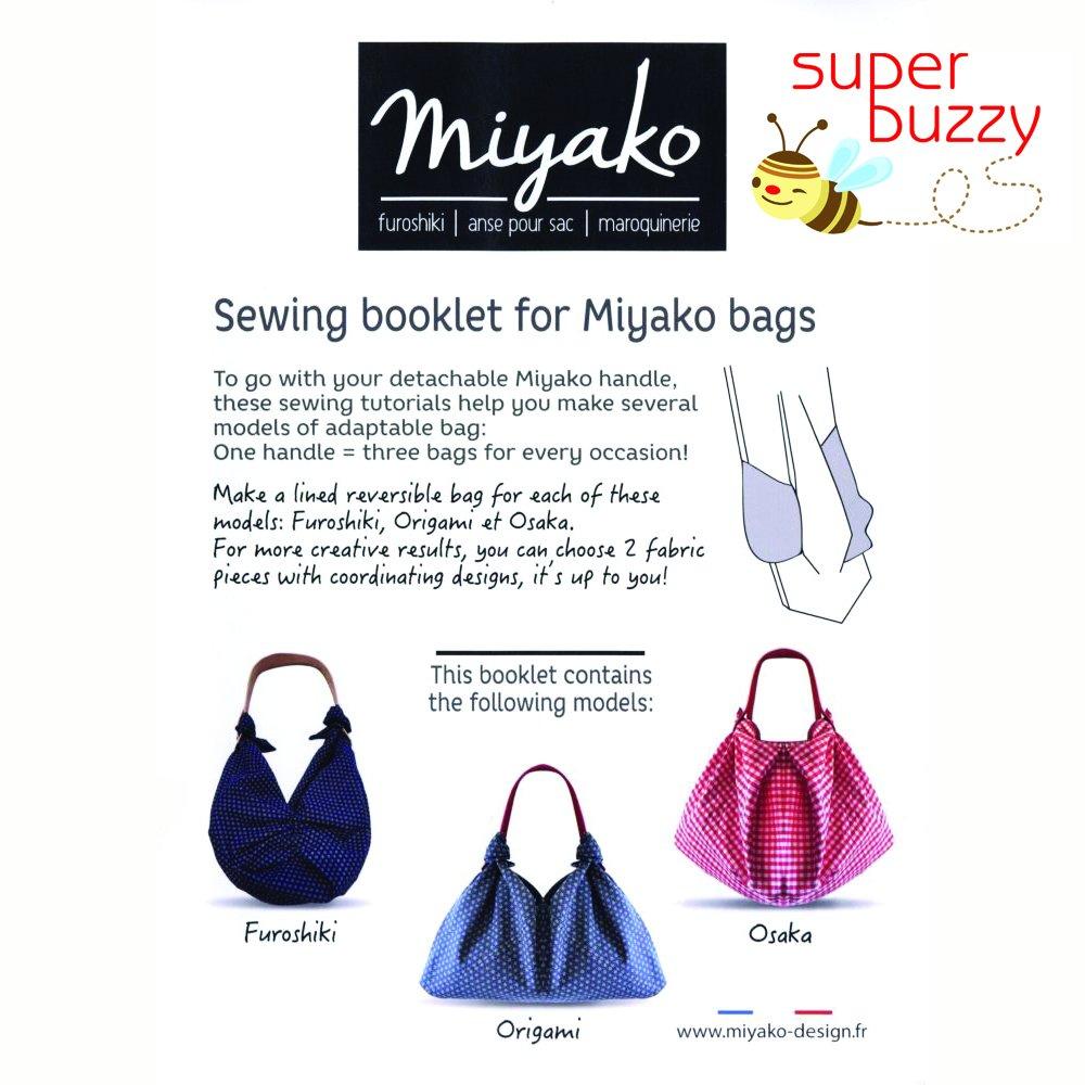 Miyako Bag Pattern Booklet