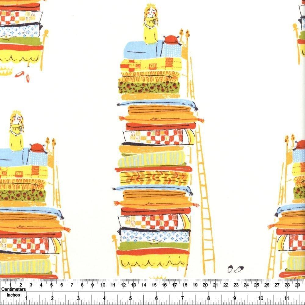 Heather Ross' 20th Anniversary - Princess & the Pea - Yellow