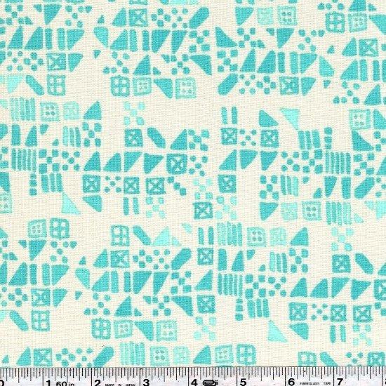 Clover - Tiny Tiles - Aqua