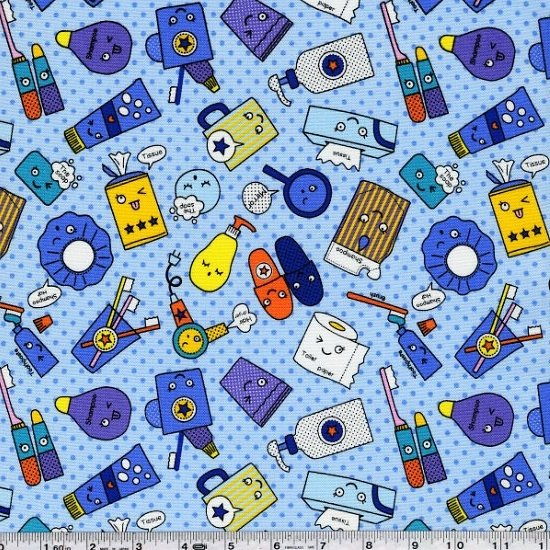 Pop'N Kids - Bed Time - Blue Dot