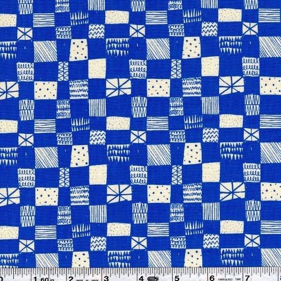 Printshop - Grid - Blue