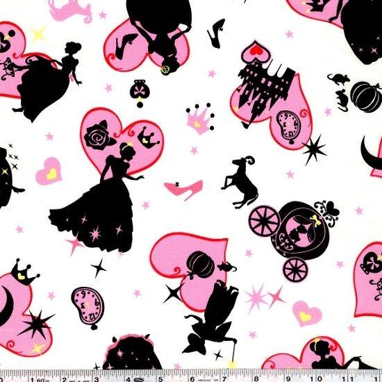 Girl's Story - Cinderella Scatter - Pink