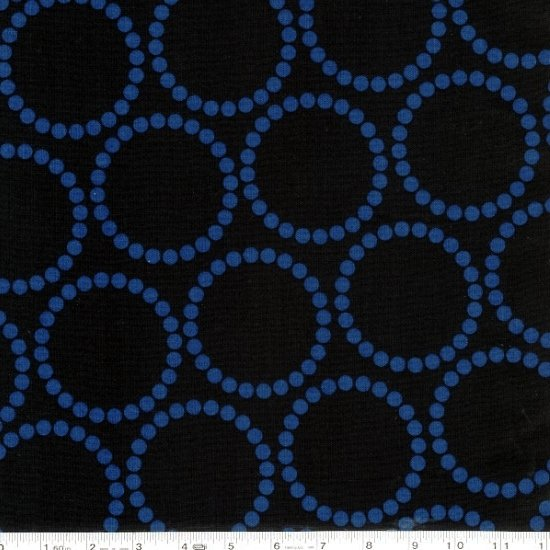 Pearl Bracelets - Tone on Tone - Blue on Black