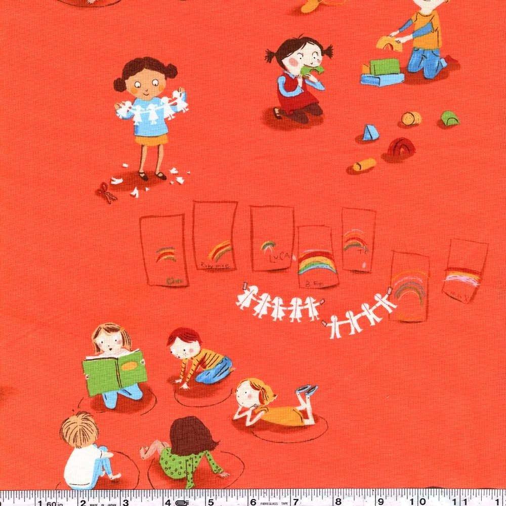 Kinder - Kindergarten - Red Orange