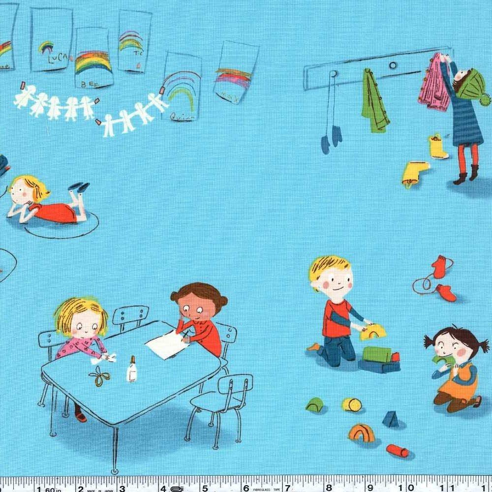 Kinder - Kindergarten - Blue