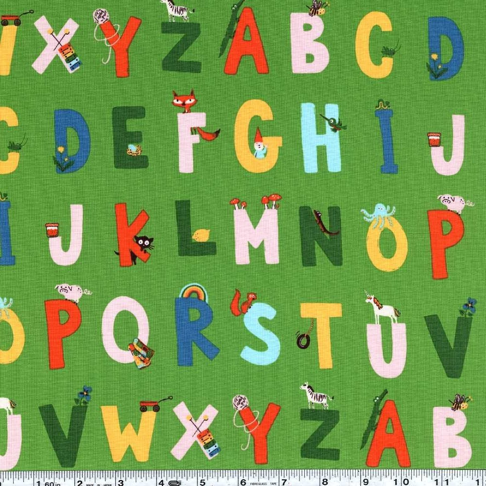 Kinder - Alphabet - Green