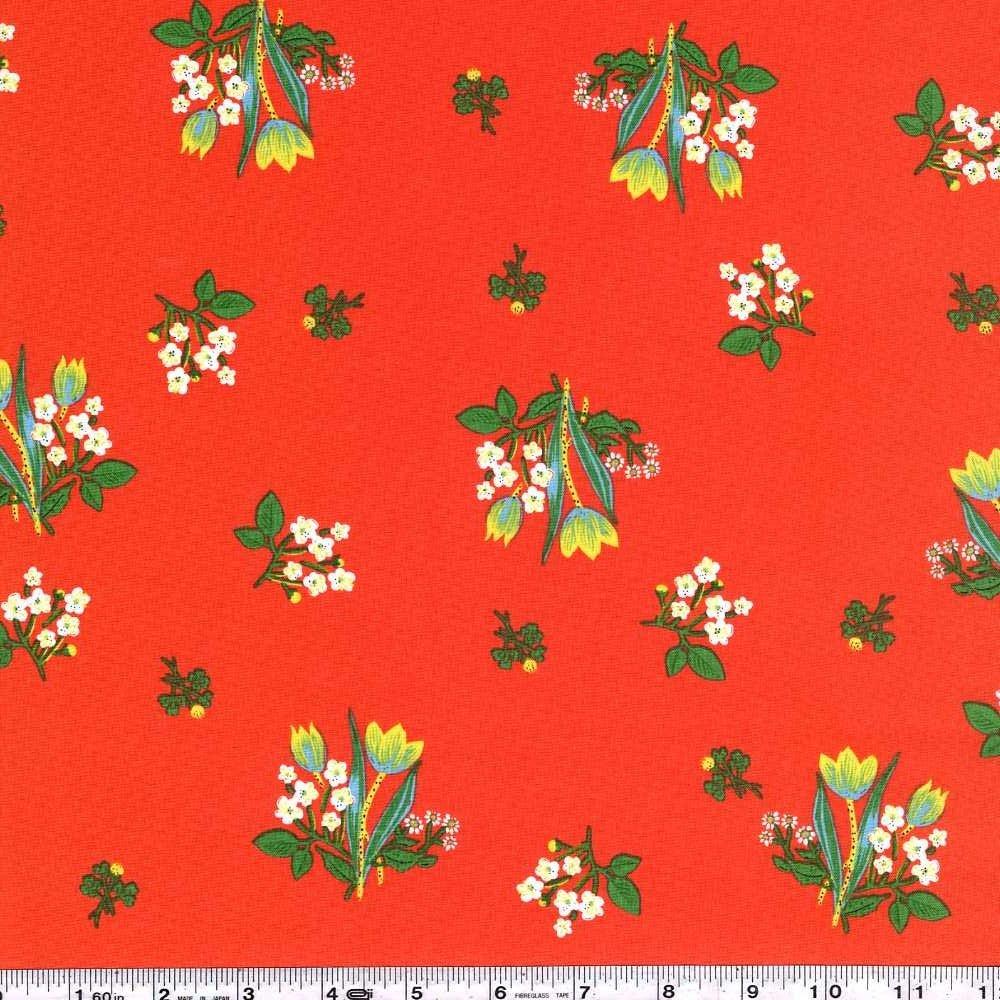 Kinder - Spring Blooms - Red Orange