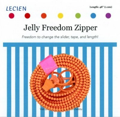 Jelly Freedom Zipper - Orange