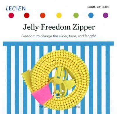 Jelly Freedom Zipper - Yellow