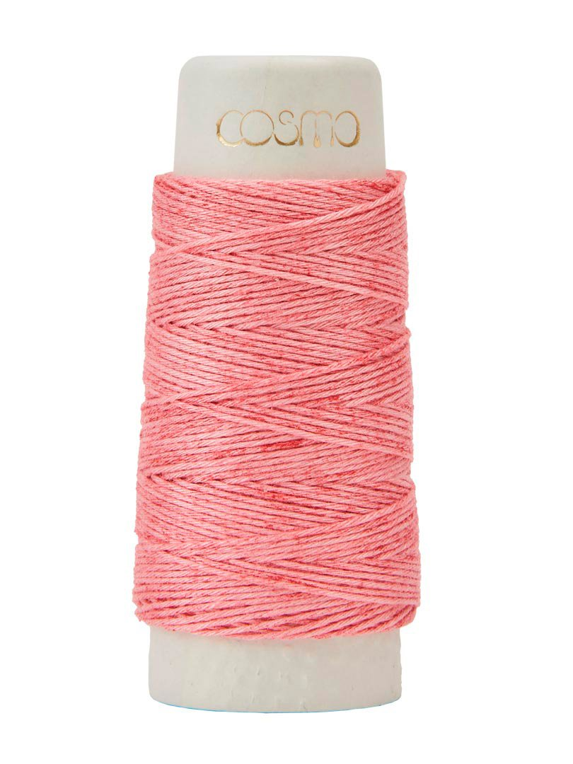 Cosmo Hidamari Variegated Sashiko Thread - Color #201 Strawberry Milk