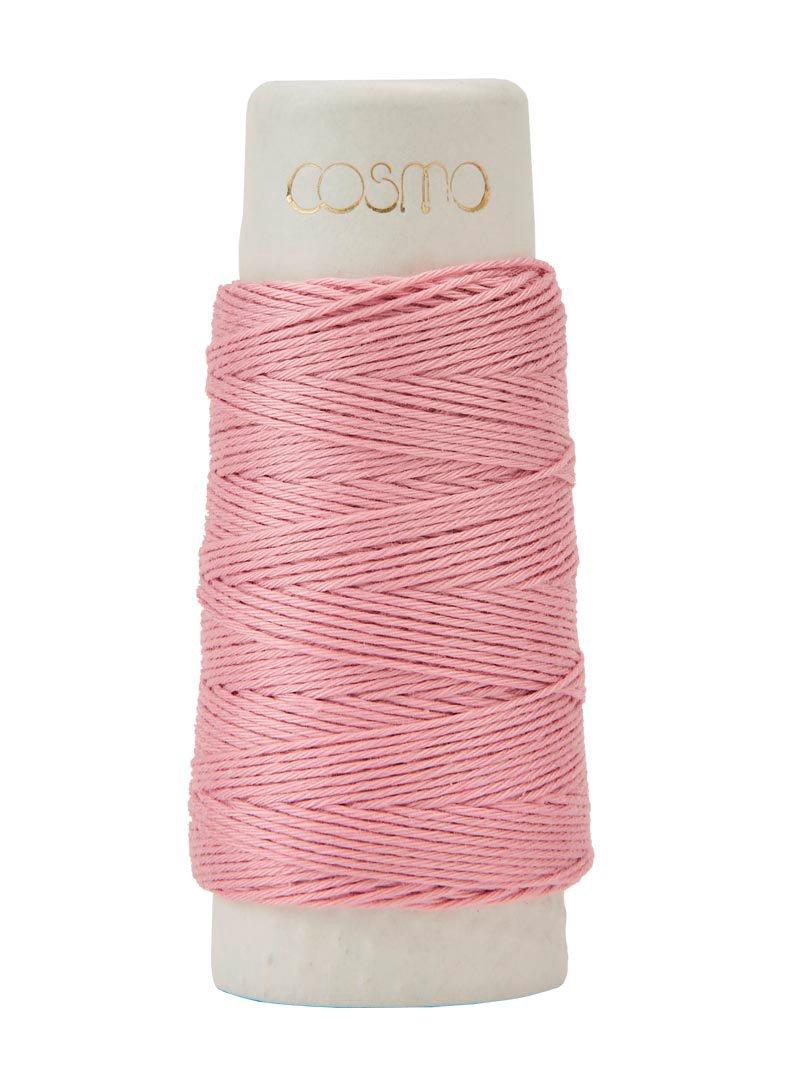 Cosmo Hidamari Sashiko Thread - Color #6 Cherry Blossom