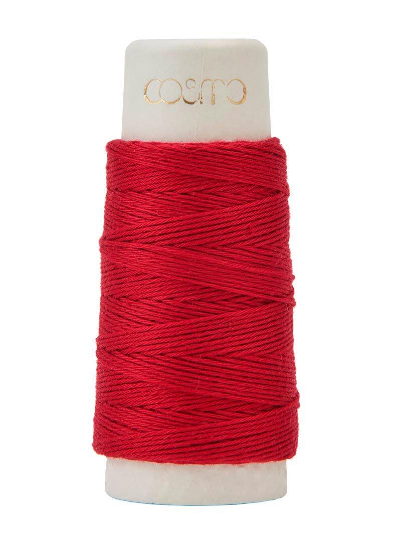 Cosmo Hidamari Sashiko Thread - Color #7 Tulip
