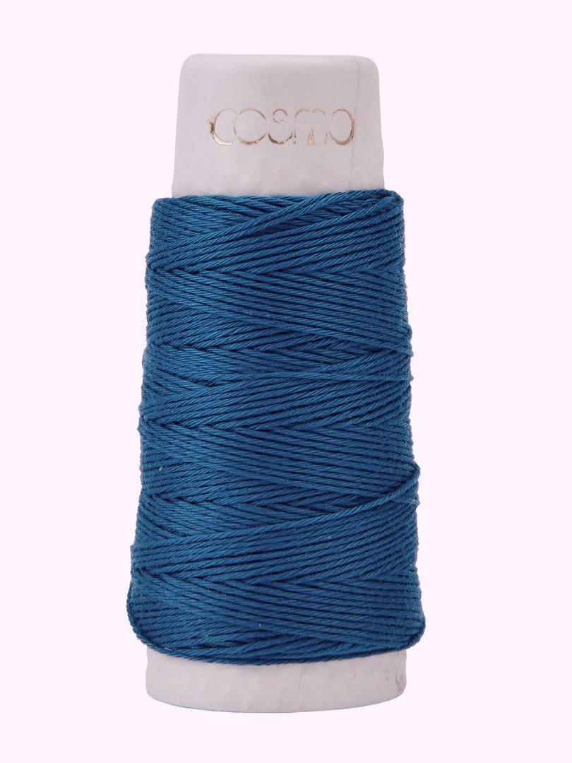 Cosmo Hidamari Sashiko Thread - Color #11 Cornflower