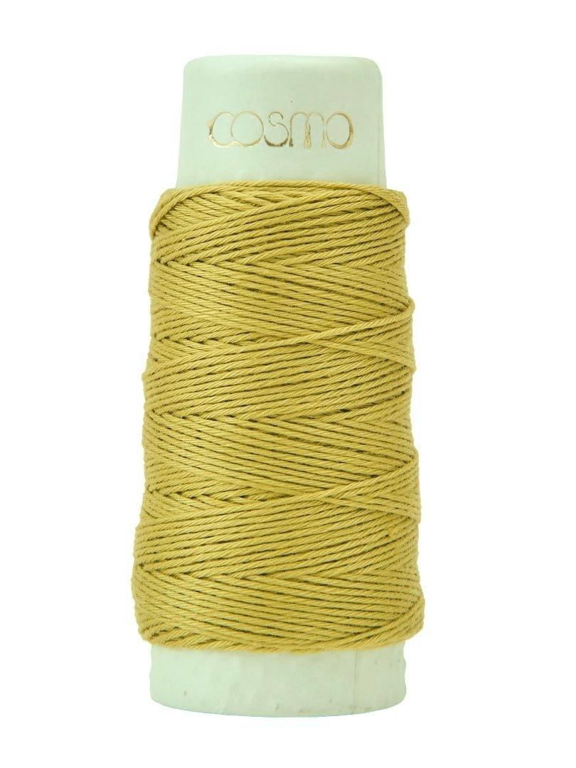 Cosmo Hidamari Sashiko Thread - Color #14 Olive