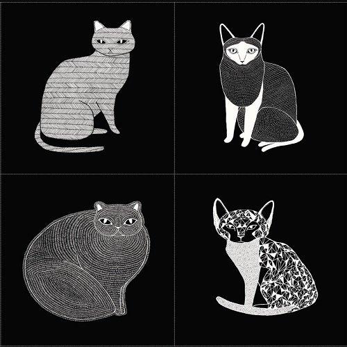 Catnip - Cat Panel - Black