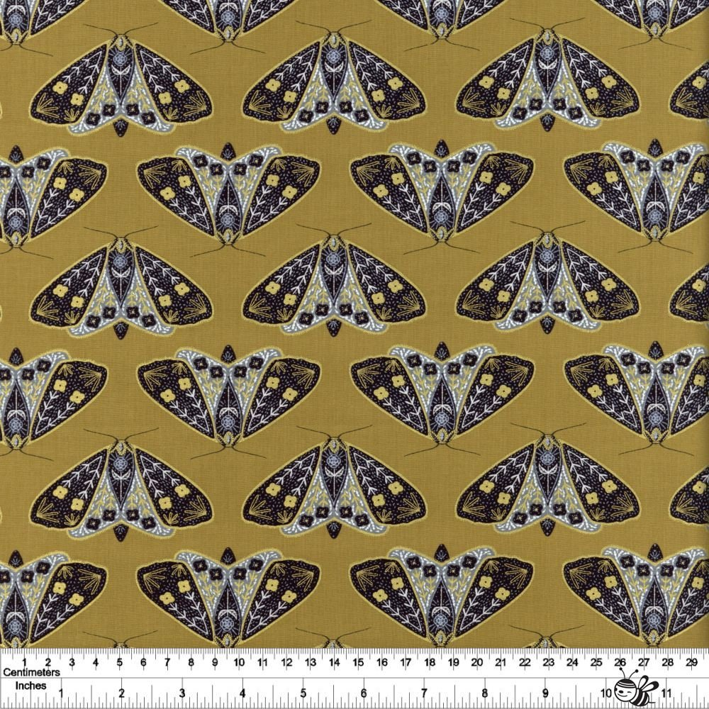 Dwell in Possibility - Dainty Moths - Umber Metallic