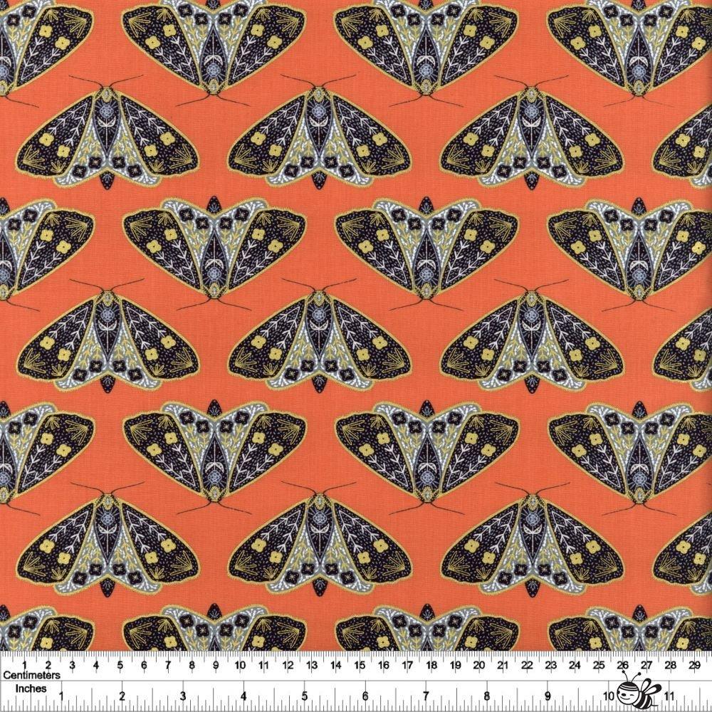 Dwell in Possibility - Dainty Moths - Poppy Metallic