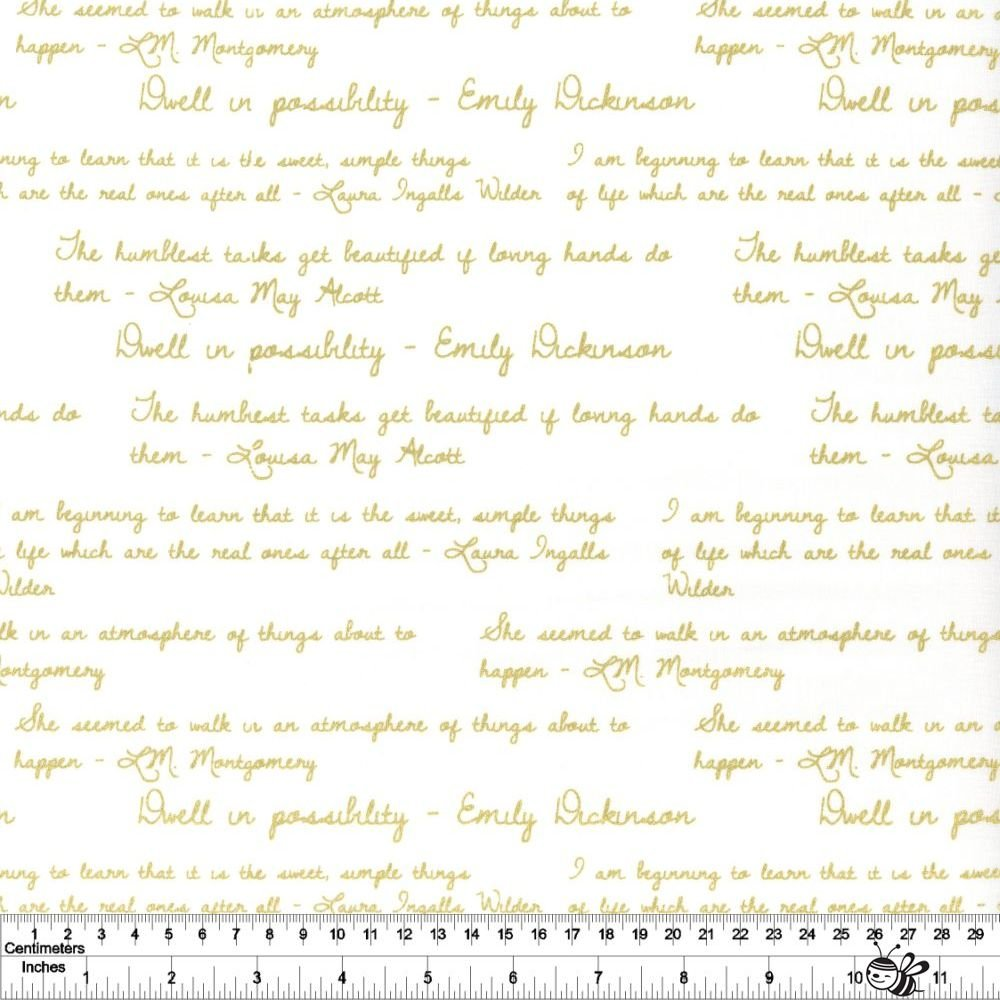 Dwell in Possibility - Quotes - Ivory Metallic