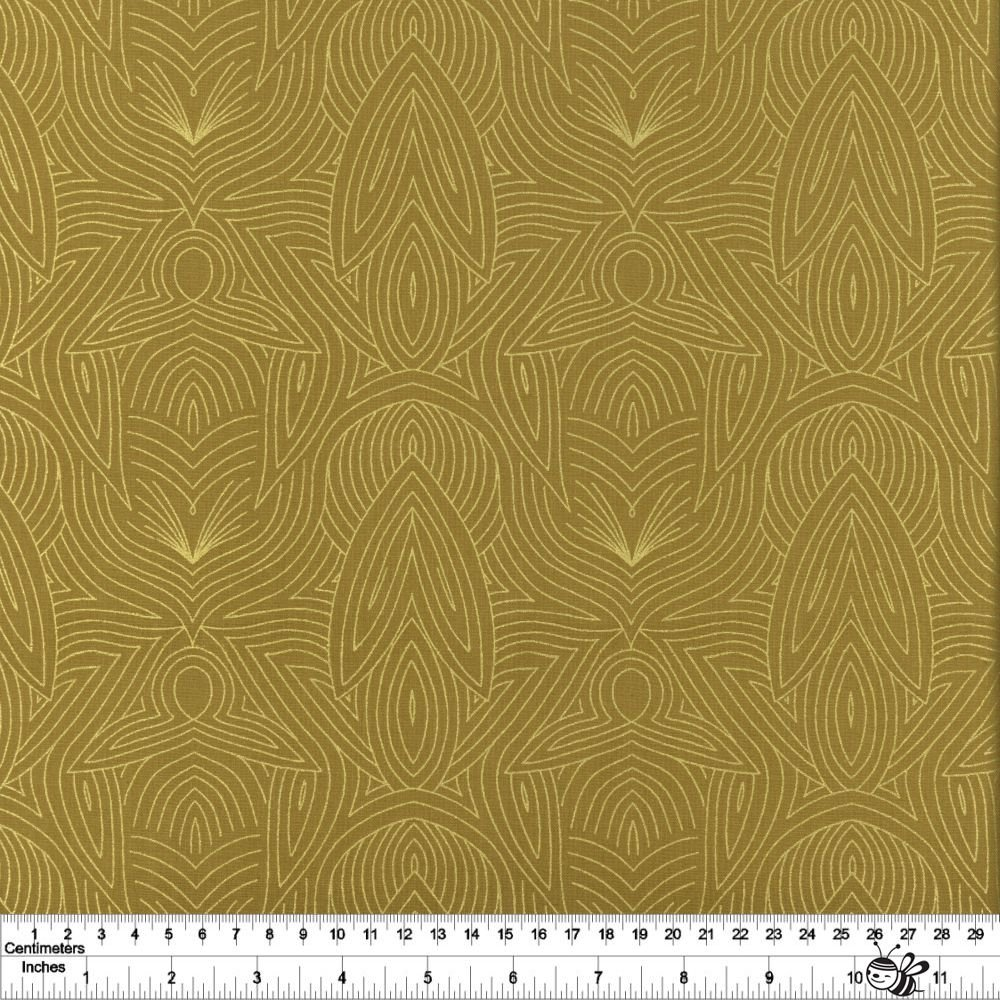 Dwell in Possibility - Nouveau - Umber Metallic