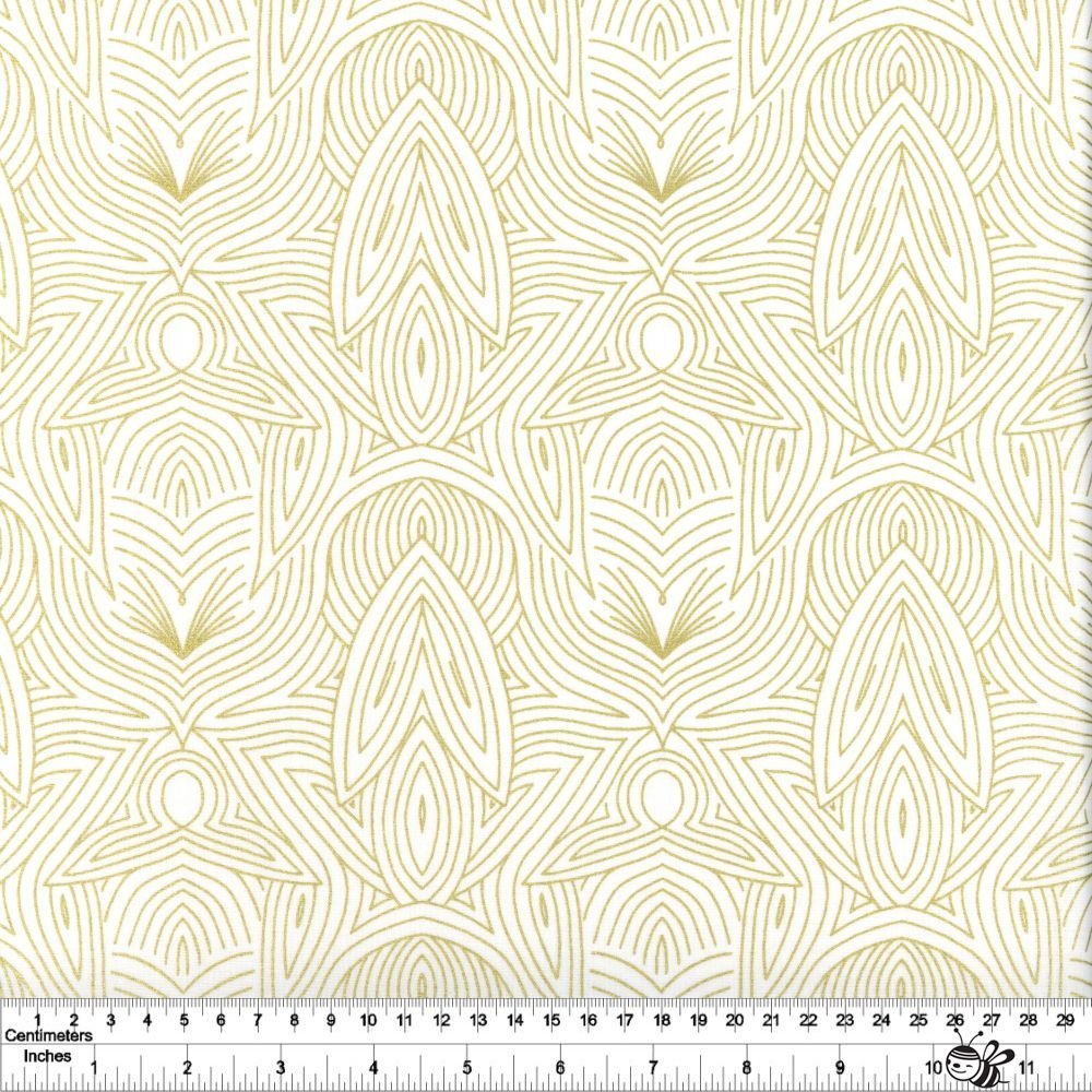 Dwell in Possibility - Nouveau - Ivory Metallic