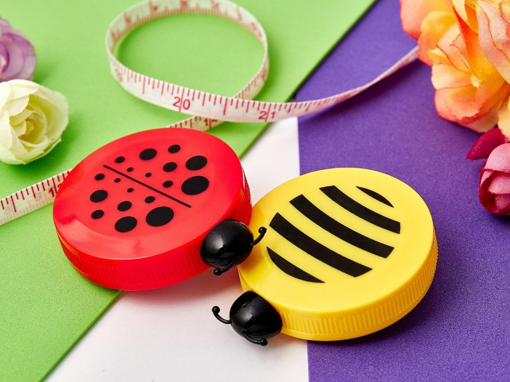 Tape Measure - Bee & Ladybug