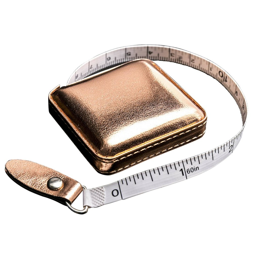 Shimmery Tape Measure - Rose Gold