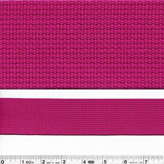 Echino Notions - Wide Webbing - Raspberry