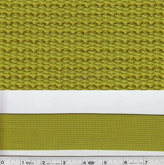 Echino Notions - Wide Webbing - Grass Green