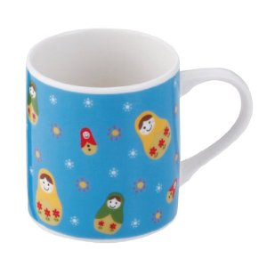 Matryoshka Mug - Blue