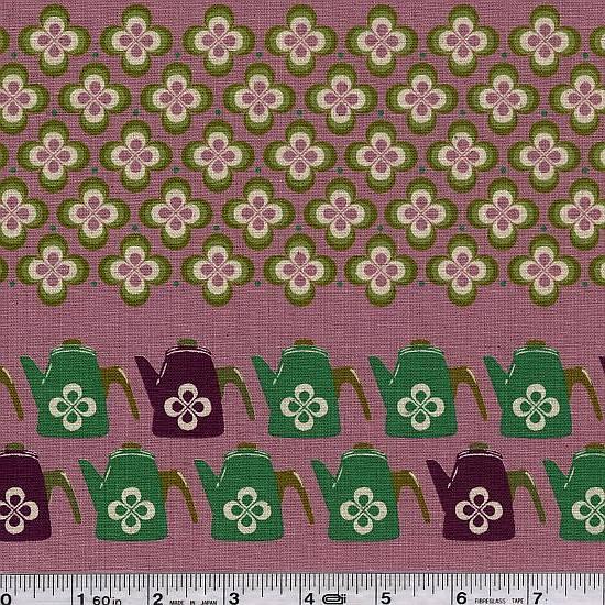 Ruby Star Shining - Teatime Stripe - Lilac