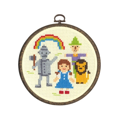 Cross Stitch Kit - Wizard of Oz