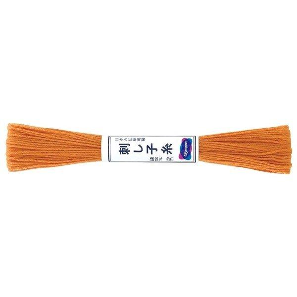 Sashiko Thread - Carrot Orange (#4)