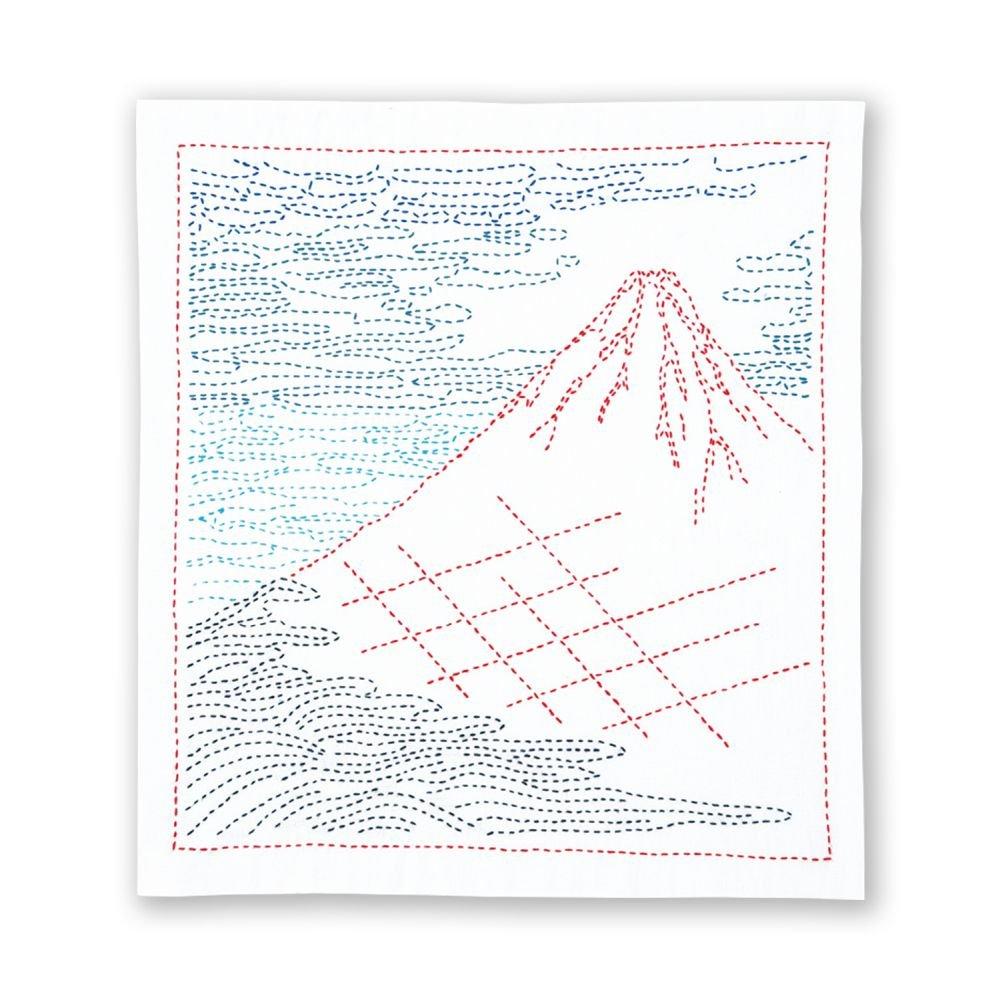 Hana-Fukin Sashiko Sampler - Fine Breezy Day