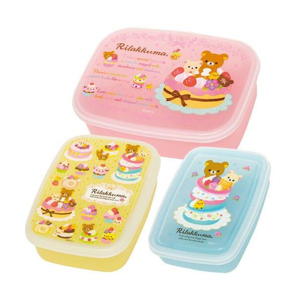 Nesting Bento Boxes - Rilakkuma Sweets