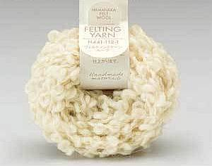 Felting Yarn - Ivory