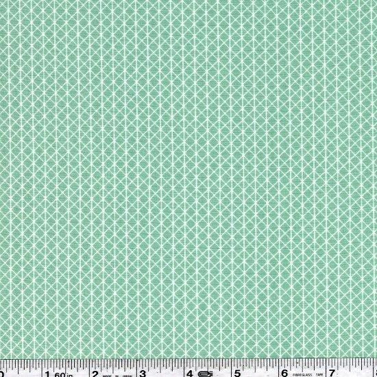 Cotton + Steel Basics - Netorious - Seafoam Green