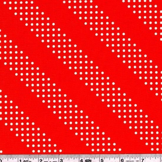 Cotton + Steel Basics - Dottie - Red