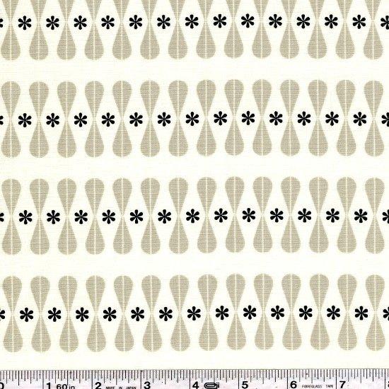 Cotton + Steel - Black & White - Floral Geo