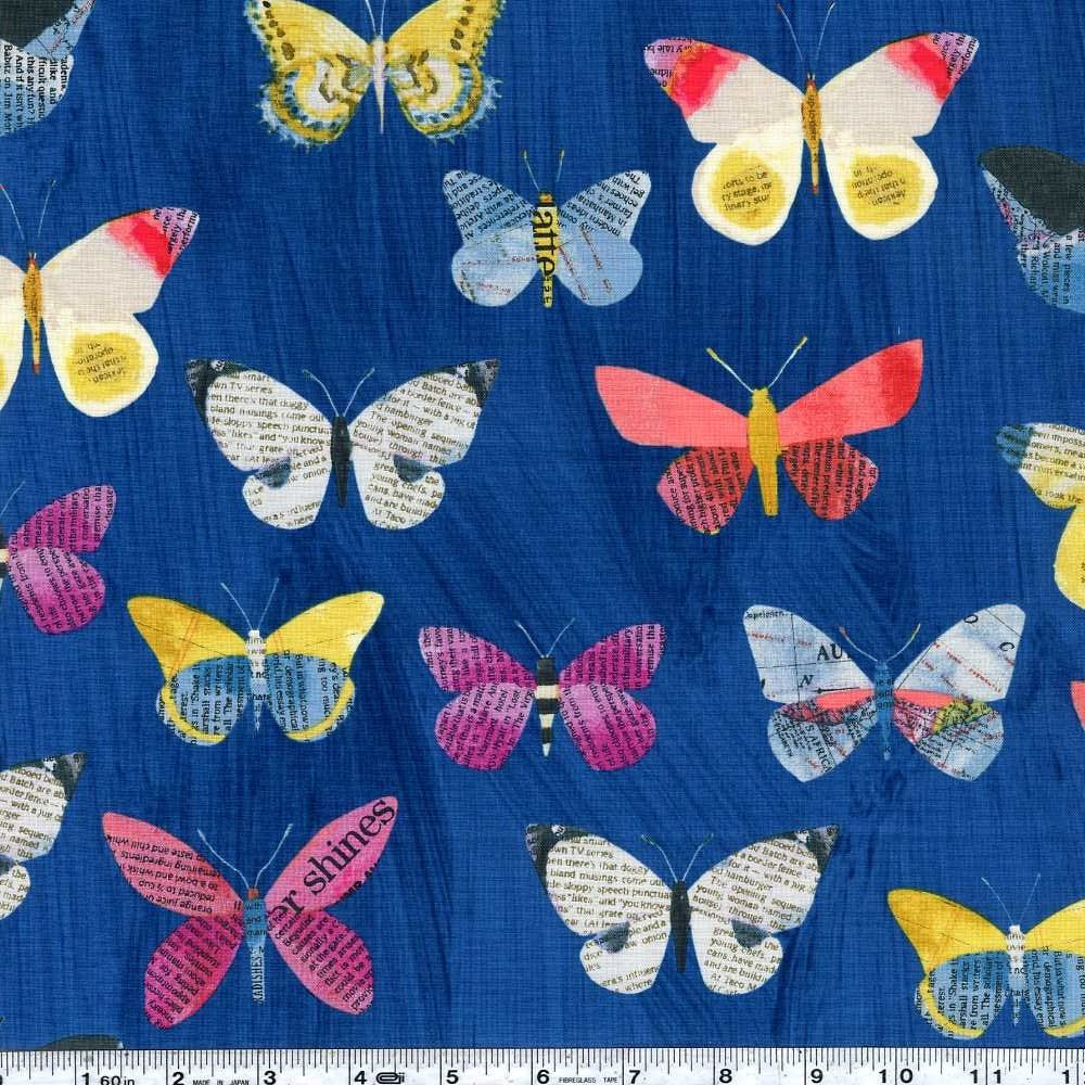 Wonder - Butterflies - Navy