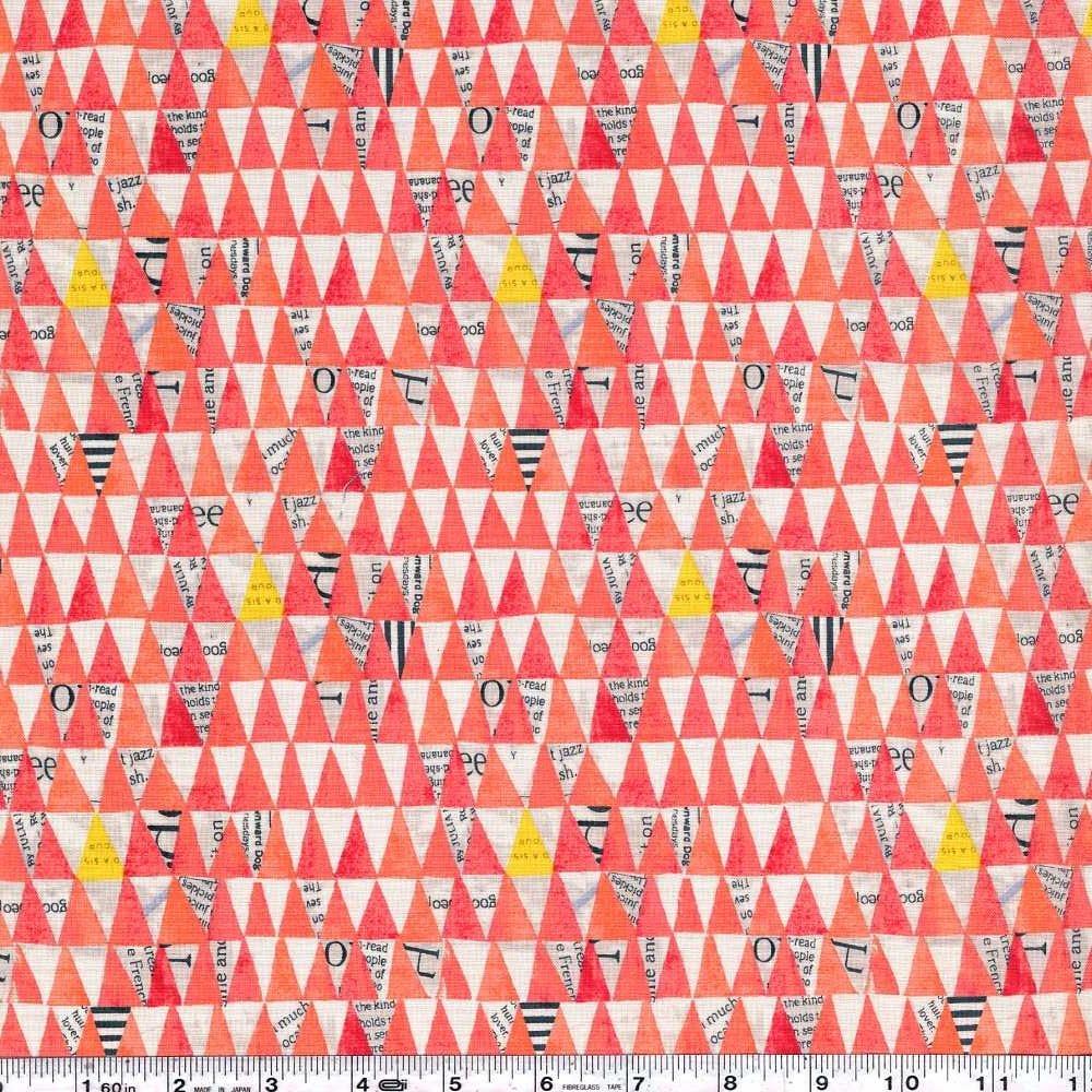 Wonder - Stacked Triangles - Watermelon