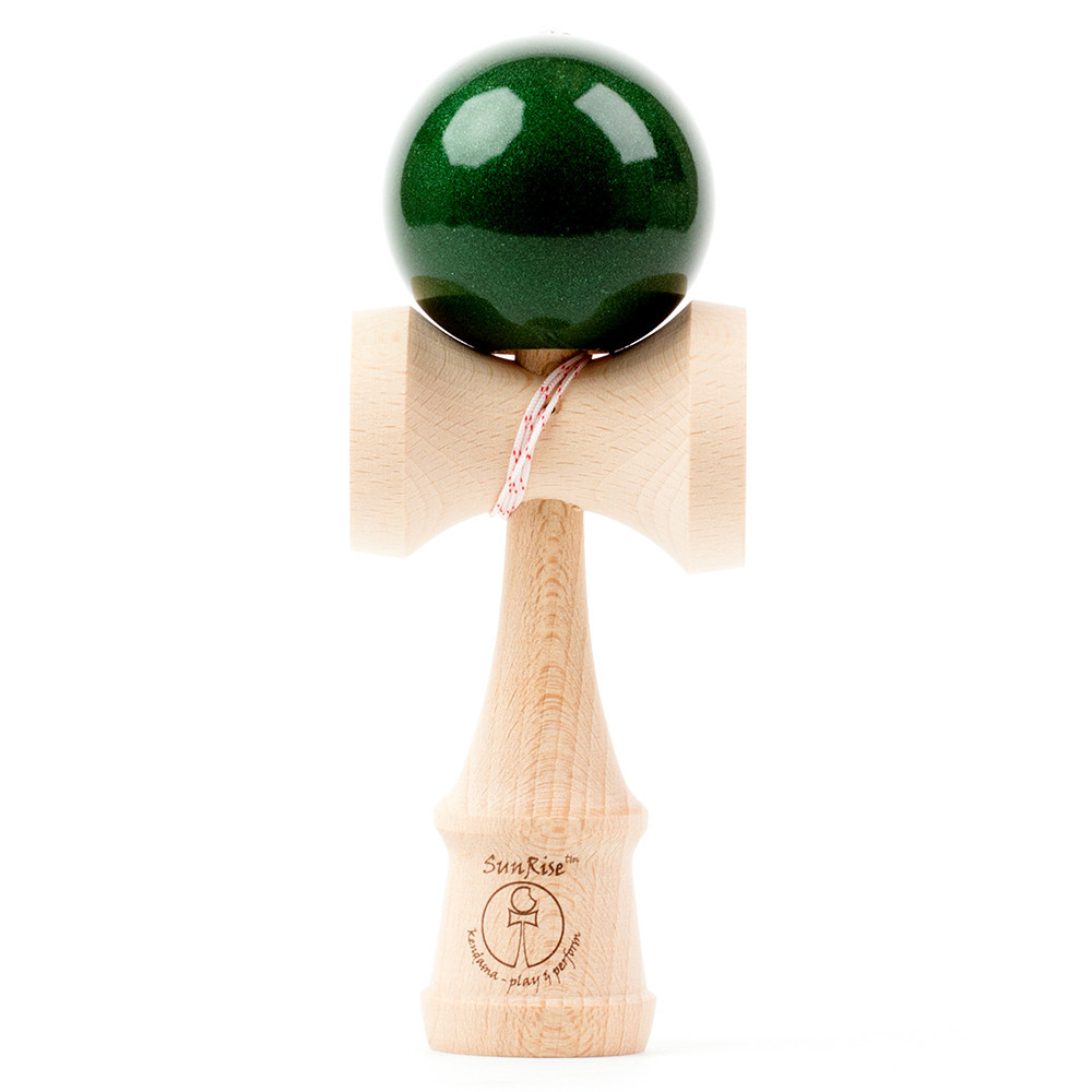 Kendama - Sunrise - Mini Metallic Dark Green
