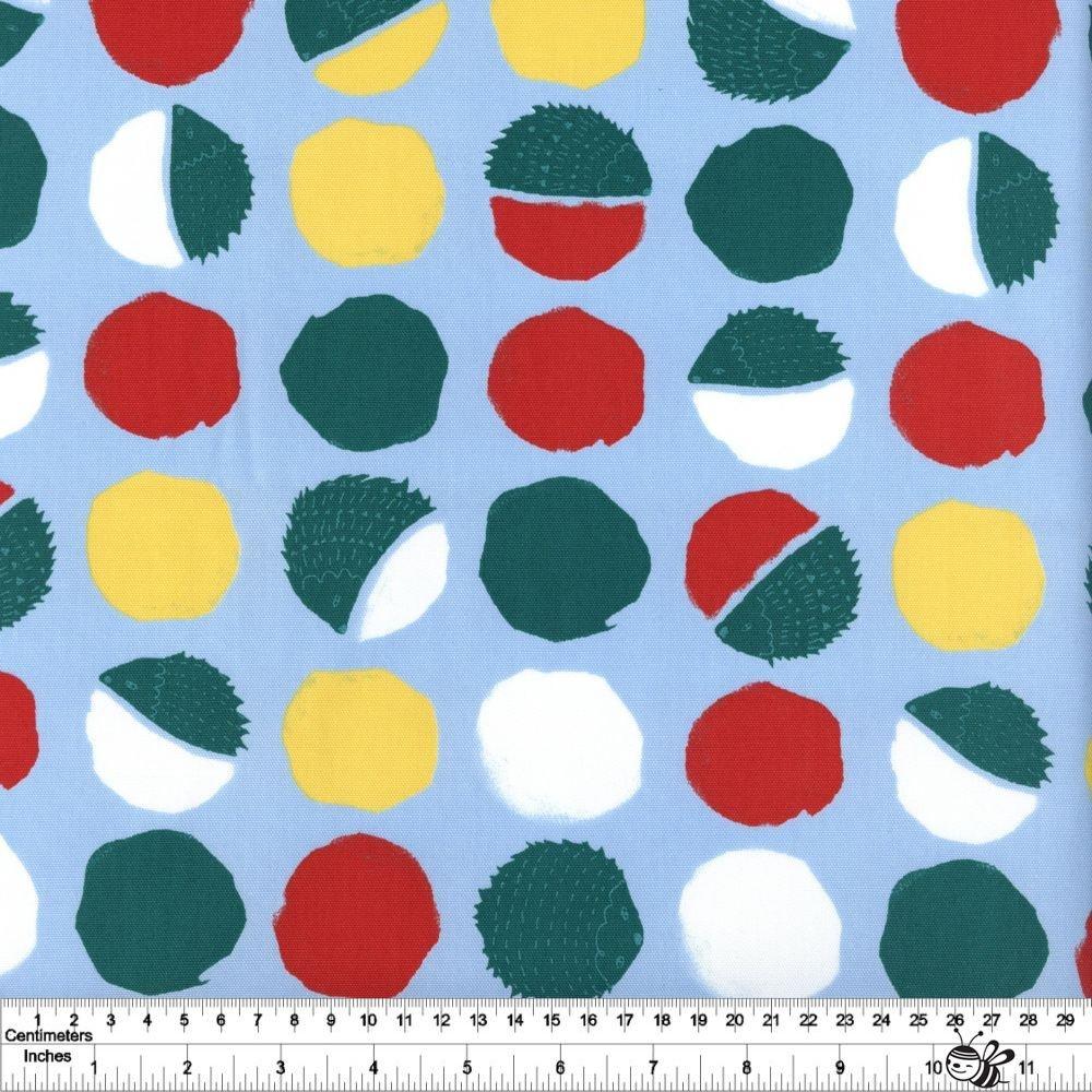 Hedgehog Dot - Blue