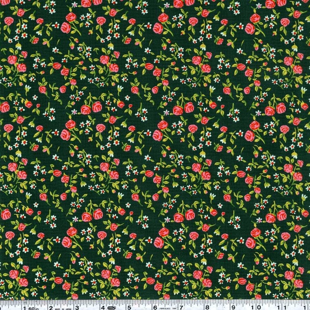 Trixie - Mousies Floral - Dark Green