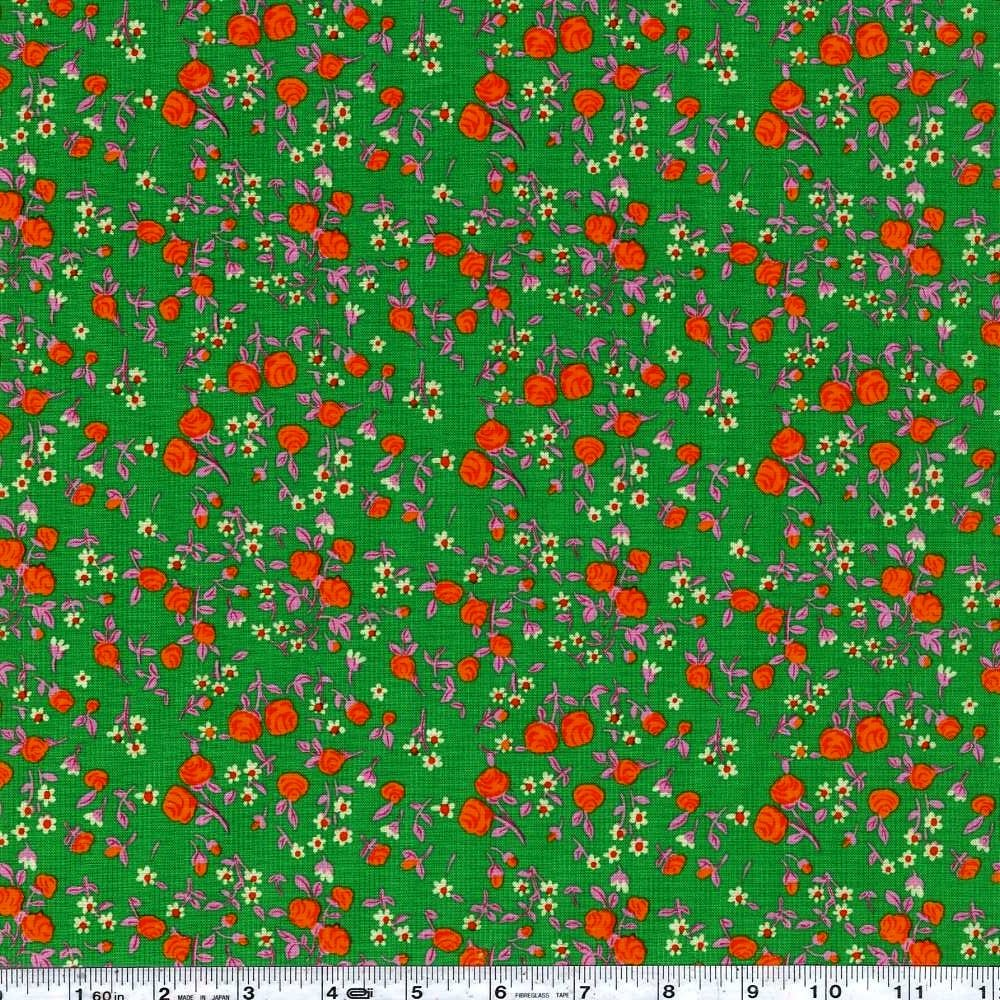 Trixie - Mousies Floral - Kelly Green