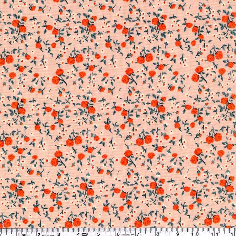 Trixie - Mousies Floral - Peach