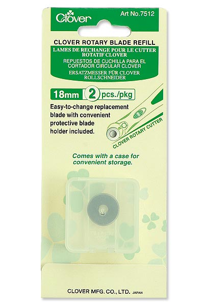 Clover Rotary Blade Refill - 18mm 2-pack