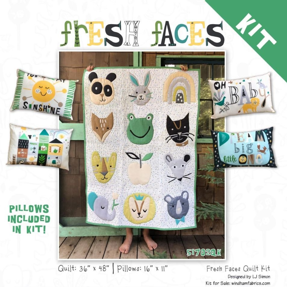 Quilt Kit - Fresh Faces