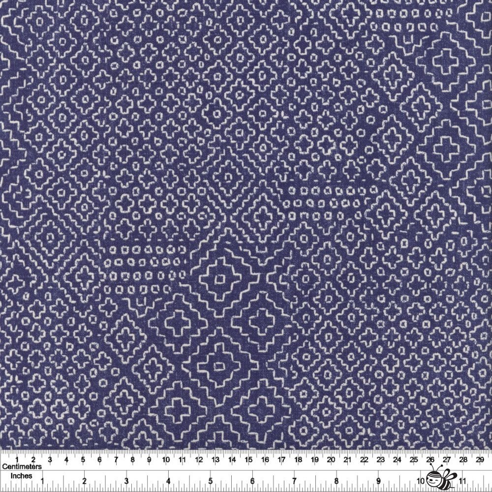 Sashiko - Stitch Sampler - Denim